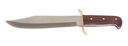 G8DS® Jagdmesser Outdoormesser Bowiemesser Dundee inkl. Lederetui und Gürtelhalter