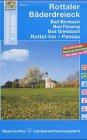 Rottaler Bäderdreieck 1 : 50 000: Bad Birnbach - Bad Füssing - Bad Griesbach. Rottal-Inn - Passau. Mit Wander- und Radwanderwegen (UK 50-37) ... /Topographische Umgebungskarten 1:50000)