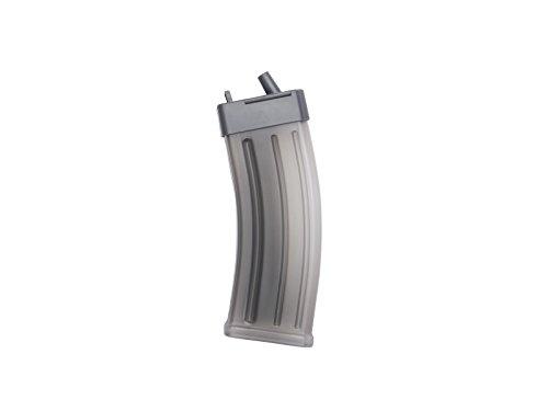 Unbekannt ASG AK Magazin-Style Kugelbehälter für 1200 BBs rauch-transparent Softair Munition