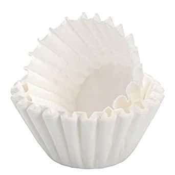 700x kleine Kaffee-Korbfilter weiß 80/200 Filter für K-Maschinen mit Mahlwerk wie Beem etc.