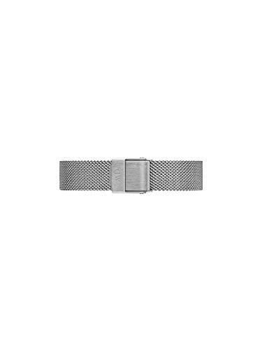 Daniel Wellington Petite Sterling, Silber/Silber Uhrenarmband, 12mm, Mesh, für Damen