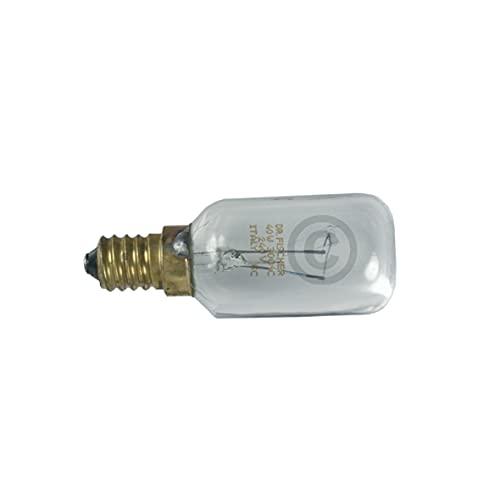 DL-pro Lampe E14 40W 240V 29mmØ 76mm für Whirlpool Bauknecht Wpro 484000008841 LFO136 Backofenlampe Glühlampe Glühbirne Ofenlampe Birne für Backofen Ofen Herd Dunstabzugshaube Mikrowelle