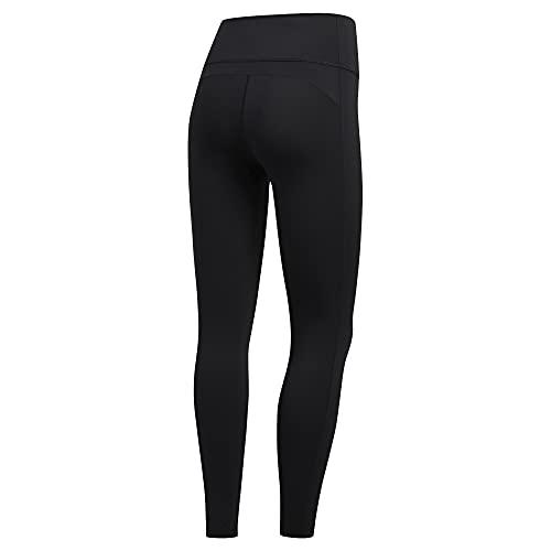 adidas Damen Believe This 2.0 Solid 7/8 Tights, Damen, Strumpfhose, Believe This 2.0 7/8 Tight, schwarz, 3X