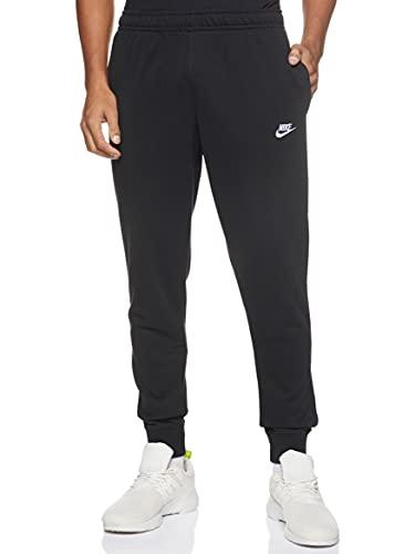 Nike Herren S NSW Club JGGR FT Sport Trousers, Black/White, S