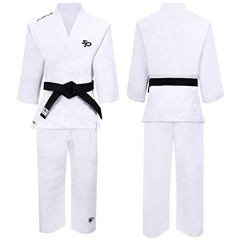 Starpro   Judo Kampfsport Anzug   Geeignet für Jiu Jitsu, BJJ GI, Karate GI, Jui Jitsu, Judo, Aikido Anzug, Taekwondo Anzug, Karate Anzug Baumwolle, Ju Jutsu Anzug, IBJJF, Taekwondo-Anzug