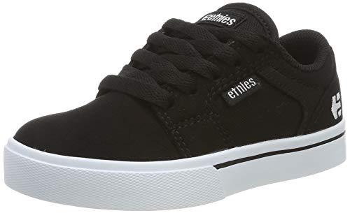 Etnies Unisex-Kinder Kids Barge Skateboardschuhe, Schwarz (Black/White 976), 38 EU