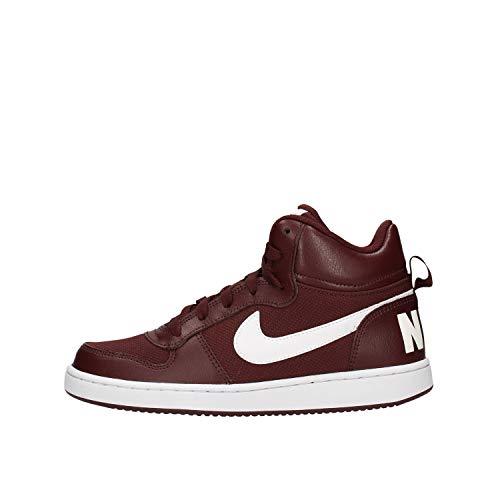 Nike Herren Court Borough Mid Pe (gs) Basketballschuhe, Rot (EL Dorado/White 200)