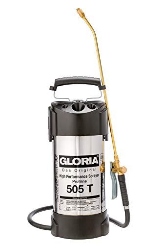 GLORIA Hochleistungssprühgerät 505 Tprofi, 5L, 6 bar, Edelstahl Ölfest