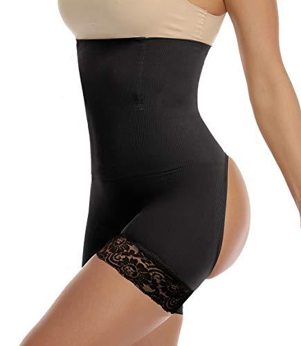 MISS MOLY Butt Lifter Damen Push Up Unterhose Miederhose Bauch Weg Stark Formend Nahtlos Enhancer Shaper Höschen Figurformende Miederpants Shapewear