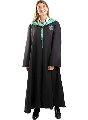 Funidelia | Slytherin Harry Potter Kostüm 100% OFFIZIELLE für Herren und Damen Größe S ▶ Hogwarts, Zauberer, Film und Serien - Farben: Bunt, Zubehör für Kostüm - Lustige Kostüme für Deine Partys