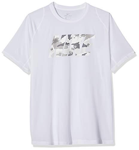Nike Herren Pro T-Shirt, White, S