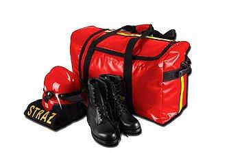 Fenomed Bekleidungstasche Rettungsdienst und Feuerwehr ROT Plan-Material
