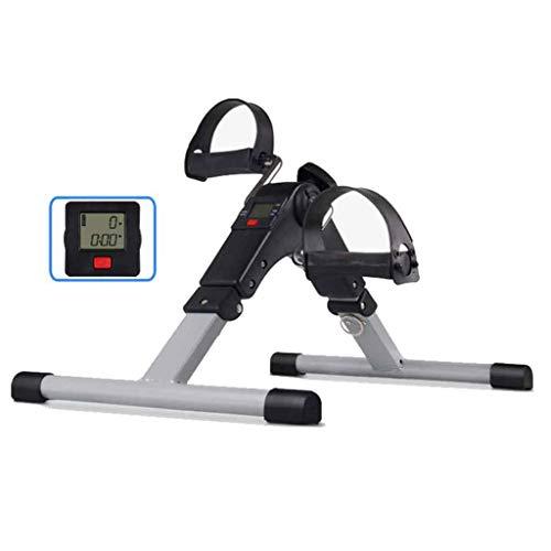 Faltbarer Pedaltrainer, Mini-Fahrrad-Heimtrainer für Arme, Beine, Physiotherapie mit Kalorienzähler