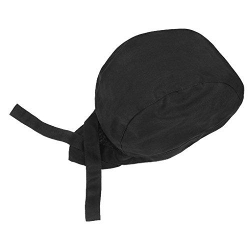 Unisex Kochmütze Bistromütze Profimütze Koch Arbeitskleidung Baumwolle Verstellbar Bandana Cap Hat Kopftuch geeignet für küchen, hotels, restaurants, catering colleges