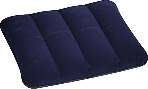 Jilong Avenli I-Beam Pillow 48x34x12 cm Reisekissen Luftkissen Kopfkissen aufblasbares Velour Kissen