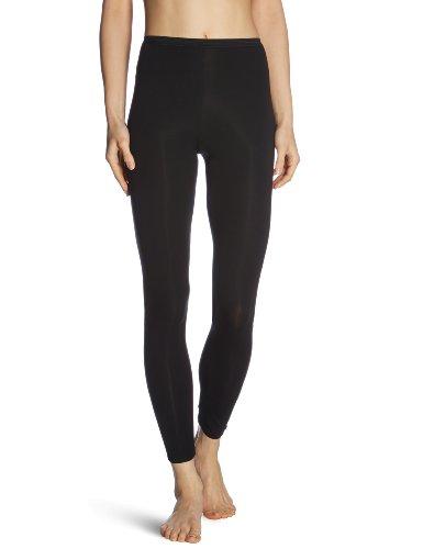 Schiesser Damen Hose Lang Unterhose, Schwarz (000-schwarz), 38 (M)