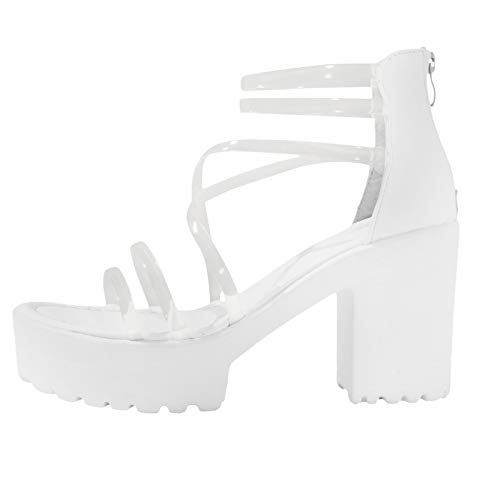 Geilisungren Damen Sandalen Keilsandalen Pumps Sommerschuhe Elegante Offene Schuhe Vintage Slingback Sandalen Open Toe Schuhe Abendschuhe High Heel Sandaletten