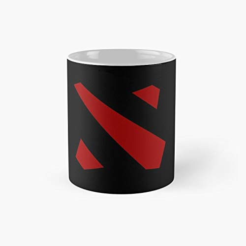 Dota 2 Logo T-shirt Classic Mug | Best Gift Funny Coffee Mugs 11 Oz