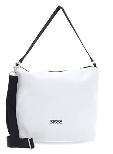 Pnch 702, blanc, cross shoul. bag M W20 BREE Collection Unisex-Erwachsene