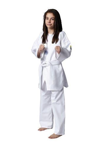Kwon Song Taekwondo-Anzug für Kinder, Unisex, 551003160, weiß, 160 cm