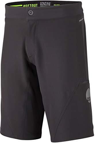 IXS Unisex Herren Mountainbike Shorts Carve EVO, Schwarz, M, IX-SHO-0480 Boardshorts, M