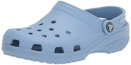 Crocs Swiftwater Webbing Sandal W Peeptoe Sandalen, Grau (Smoke/Oyster 0ct), 41/42 EU
