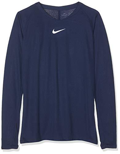 Nike Kinder Longsleeve Dri-FIT Park First Layer, Midnight Navy/White, XL, AV2611-410