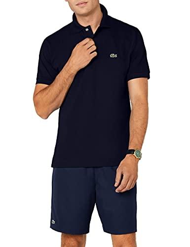 Lacoste Herren Poloshirt L1212, Blau (Marine), 3XL