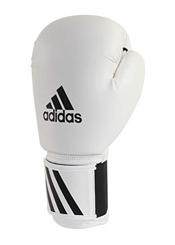 adidas Speed 50 Boxhandschuhe, weiß, 12 oz