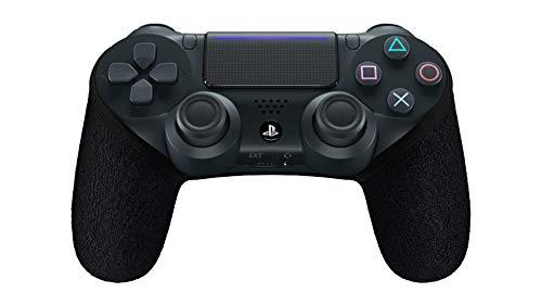 SMART GRIP PS4 Controller Hülle, Anti-Sweat/Anti-Rutsch PS4 Controller Grip, Waschbar, Playstation Controller Individualisieren, PS4 Controller Zubehör (Schwarz)