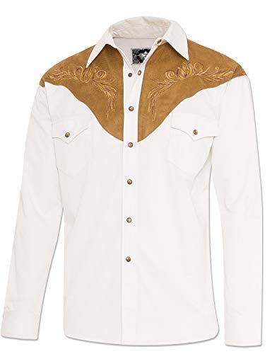 STARS & STRIPES Herren Hemd Westernhemd Biker Country Cowboy Western Westernstyle »Boston« Gr.3XL