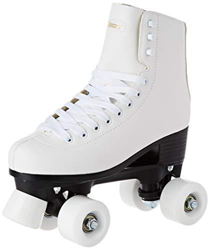 Roces Erwachsene RC1 Classicroller Rollerskates/Rollschuhe Artistic, weiß, 42