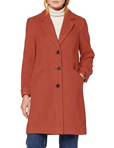VERO MODA Damen VMCALA Cindy AW19 3/4 Jacket BOOS Mantel, Rosa (Mahogany Mahogany), Medium (Herstellergröße: M)