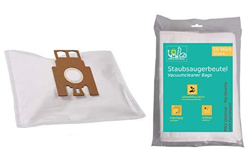 PW2 Optimal 10 Stück Staubsaugerbeutel geeignet für Miele Electronic 1400 || Miele Electronic 1400 Airclean (S163(-)) mit Zusatzfilter