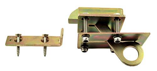 SN-TEC Bodenlukenschnäpper/Klappenhalter für Bodenluken bis 20mm inclusive Befestigungsmaterial