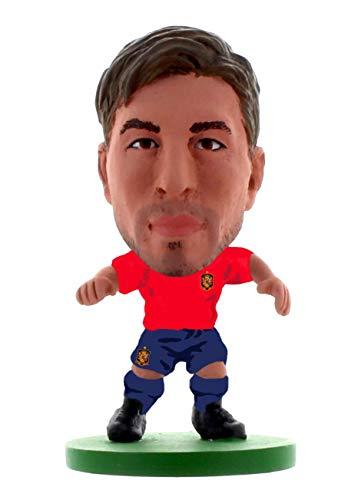 SoccerStarz Spanien Sergio Ramos Home Kit/Figuren