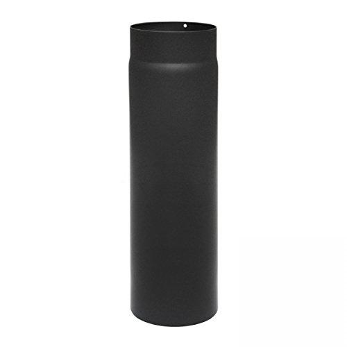 raik SH003-150-sw Raik Rauchrohr/Ofenrohr 150mm - 500mm schwarz