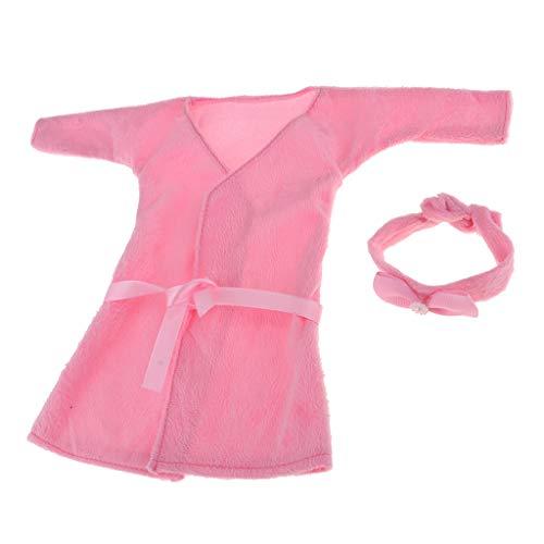 Fenteer Puppen Kleidung Pyjamas Nachthemd Nachtwäsche Für 1/3 BJD Puppe Dress Up - # 2