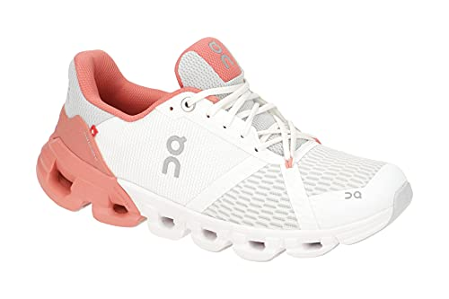 On Running W Cloudflyer Weiß, Damen Laufschuh, Größe EU 40 - Farbe White - Coral