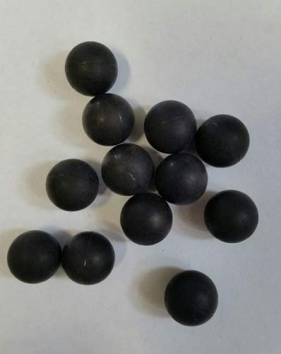 IDP Rubberballs, Hartgummiballs Reballs 100 Stück Cal.43