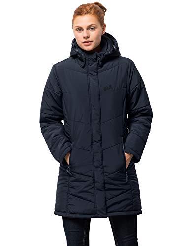 Jack Wolfskin Damen Mantel Svalbard Coat Women, midnight blue, XS