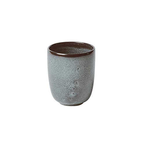 like. by Villeroy & Boch - Lave glacé Becher ohne Henkel, 400 ml, Tasse aus Steingut ohne Henkel für besondere Kaffeemomente, spülmaschinengeeignet