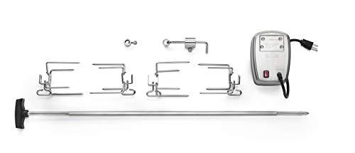 Napoleon Grills 69231 Drehspieß-Set für 405/450/485/495/500, Edelstahl