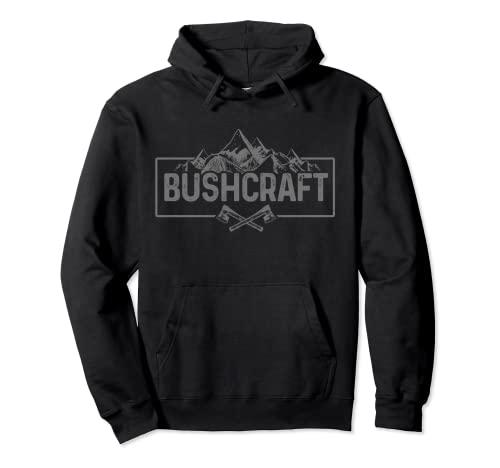 Bushcraft Outdoor Survival Camping Axt Messer Geschenk Pullover Hoodie