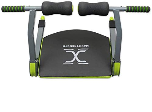 MAXSTRENGTH Home Gym Wonder Bauchmuskeltrainer Smart Body Core Trainingsgerät Workout Fitness Equipment