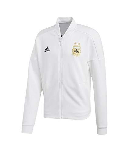 adidas Herren Herren Argentinien Jacke Argentinien Z.N.E. Knit Jacke, White, S, CE6667