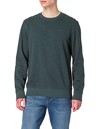 ESPRIT Herren 021EE2J307 Sweatshirt, 455/TEAL Blue, M
