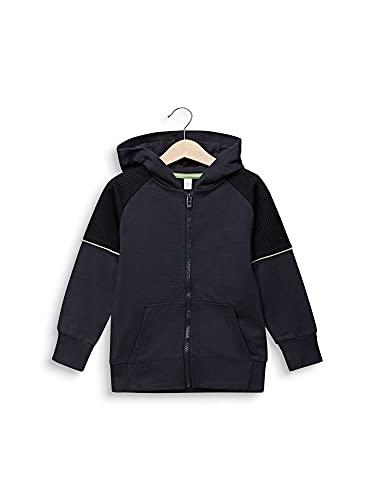 ESPRIT KIDS Jungen RQ1705403 Card Sweatshirt, Grau (Anthracite 290), (Herstellergröße: 128+)