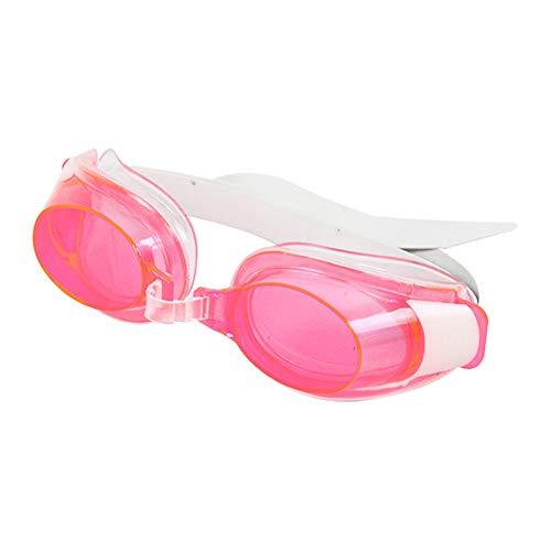 RIsxfh122 Erwachsene Unisex Schwimmbrille Clear Anti-Fog Schwimmbrille Junior Schwimmbrille Tauchen Schwimmbrille Mit Nasenclip Ohrstöpsel Für Junge Männer Frauen Rosa