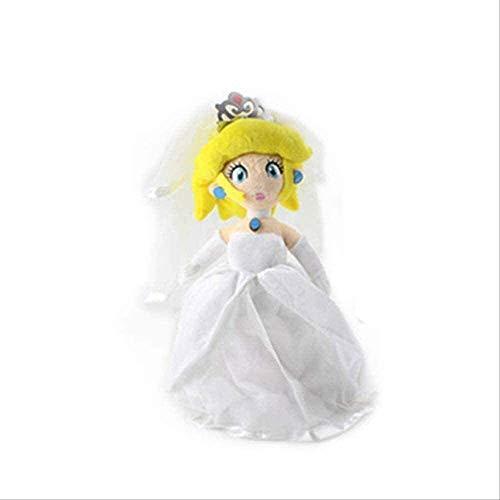 ADIE Plüschtier Super Mario Odyssey Brautkleid Luigi Prinzessin Pfirsich 3D Land Knochen Kuba Dragon Dark Bowser Koopa Spielzeug Spielzeug-27cm